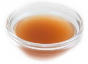 Apple Cider Vinegar in Bowl for Ears