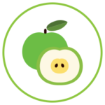 Emblem for Skin Support Eating Apples for Skin Health Module