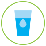 Emblem for Skin Support Drinking Plenty Water for Skin Health Module