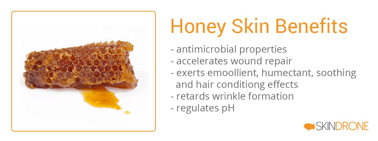 List of benefits honey for skin and seborrheic dermatitis