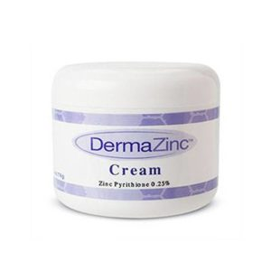Generic container of DermaZinc's Zinc Pyrithione based cream
