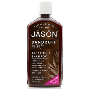 New packaging for Jason's Dandruff Relief shampoo