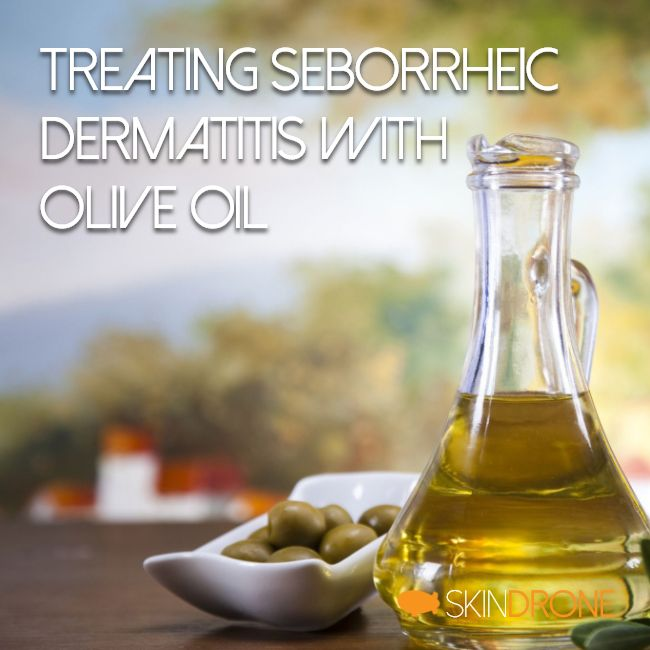 Treating seborrheic dermatitis with olive oil - cover photo